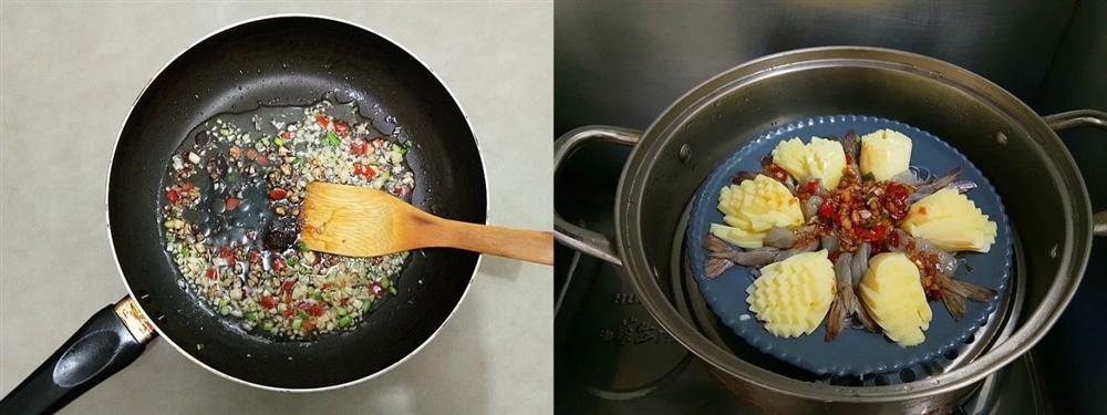 Tiệc đầu năm mà làm món tôm hấp kiểu này đảm bảo cả nhà ngạc nhiên với tài nấu nướng của bạn-4