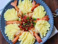 Tiệc đầu năm mà làm món tôm hấp kiểu này đảm bảo cả nhà ngạc nhiên với tài nấu nướng của bạn