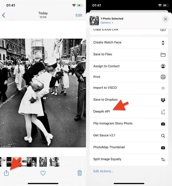Cách phục chế ảnh trắng đen thành ảnh màu bằng smartphone và máy tính-6