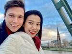 MC Hoàng Oanh tiết lộ nhà riêng và cuộc sống lãng mạn với chồng Tây bên Singapore-7