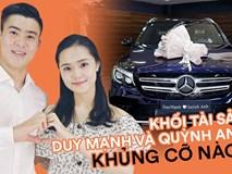 Duy Mạnh và Quỳnh Anh về chung một nhà, khối tài sản sẽ khủng đến cỡ nào: Xế hộp tiền tỷ, đồ hiệu có kém gì ai!