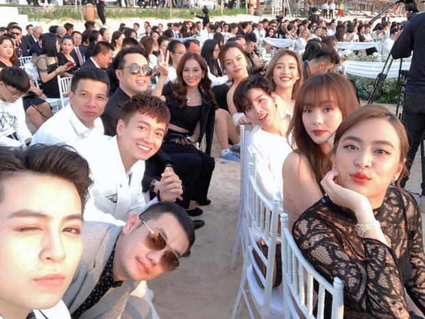 """Gil Lê và Hoàng Thùy Linh giữ khoảng cách khi cùng dự sự kiện nhưng vẫn để lộ dấu vết"""" chung-4"""