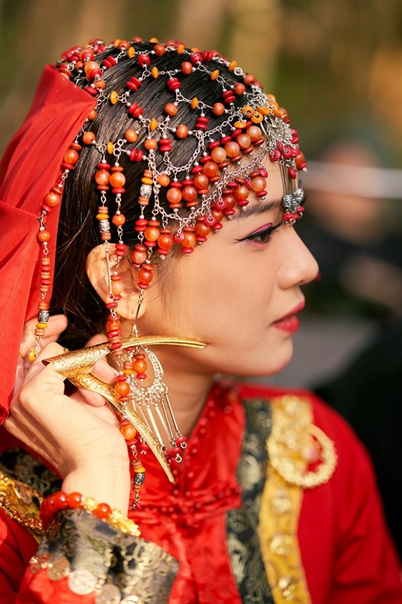 Khoe sắc với bộ ảnh cổ trang, Hoàng Yến Chibi gây tranh luận là đang hóa Tiểu Yến Tử hay Hàm Hương-10