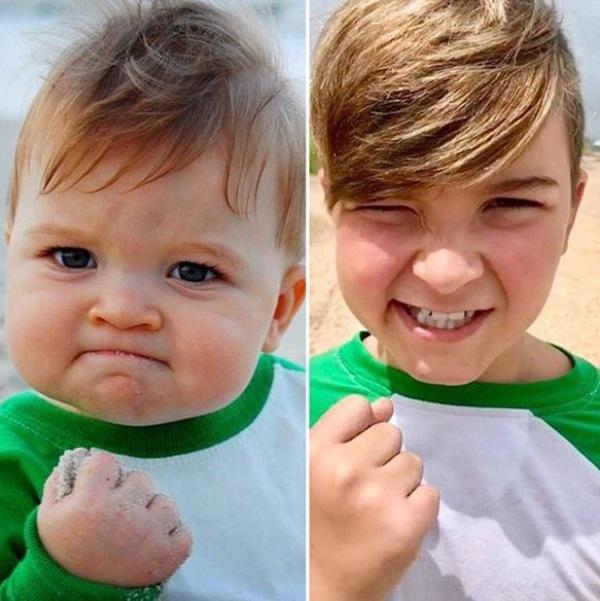 Cuộc sống hiện tại của cậu bé ảnh chế đình đám một thời: Gia đình gặp biến cố, nhờ một bức ảnh mà cứu sống được bố-3