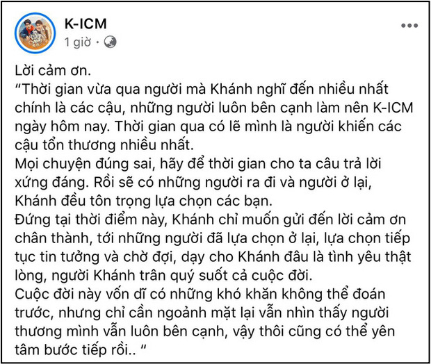 Rầm rộ clip nghi vấn K-ICM vẫn vui vẻ họp fan giữa thời điểm rơi vào trạng thái trầm cảm, bất ổn vì scandal-4