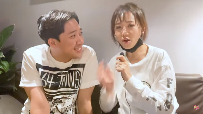 Trấn Thành khiến Hari Won nổi giận, đập khẩu trang vì nói: Cái này của chồng công chồng, vợ chẳng có gì hết-1