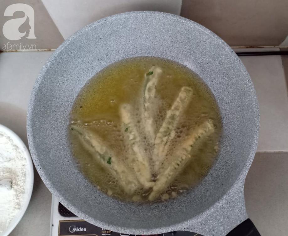 Học người Nhật làm tempura đậu bắp: Tưởng không ngon mà ngon không tưởng!-6