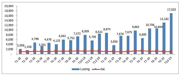 Thịt lợn Ba Lan, Đức, Mỹ... nhập về Việt Nam tăng mạnh, giá chỉ hơn 25.000 đồng/kg-1