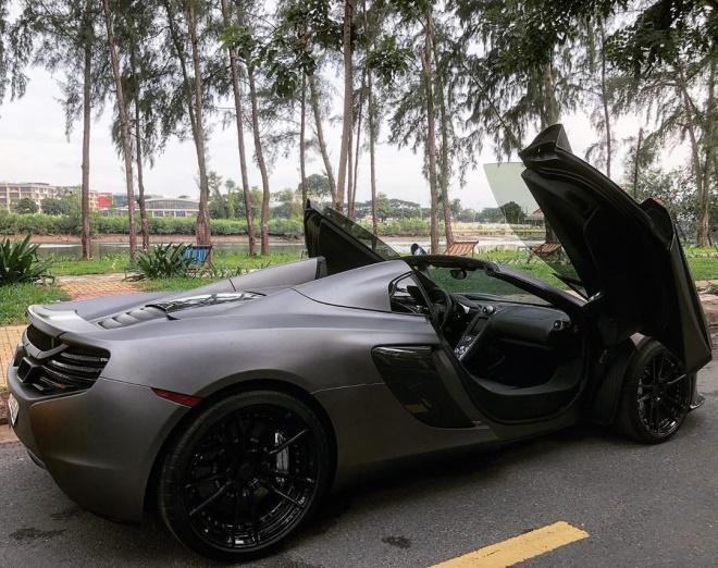 Những chiếc McLaren 650S Spider khoác áo độc lạ ở Việt Nam-12