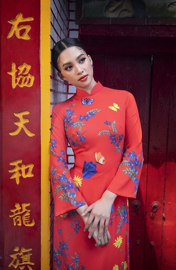 Chuẩn gương mặt đẹp nhất năm, Tiểu Vy lại tung bộ ảnh mới trong trang phục truyền thống-3