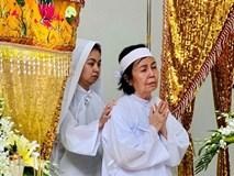 Đám tang NSƯT Nguyễn Chánh Tín: Vợ khóc ngất bên linh cữu chồng