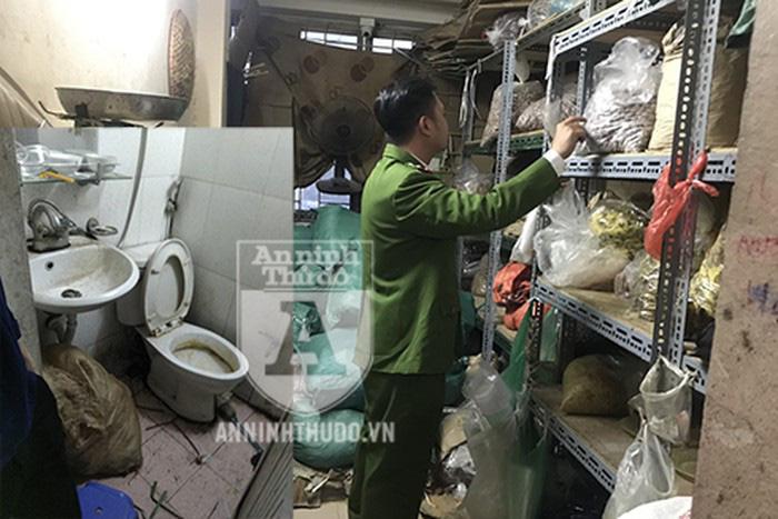Đột kích cơ sở chế biến ô mai trong… nhà vệ sinh để tung ra thị trường bán dịp Tết-2