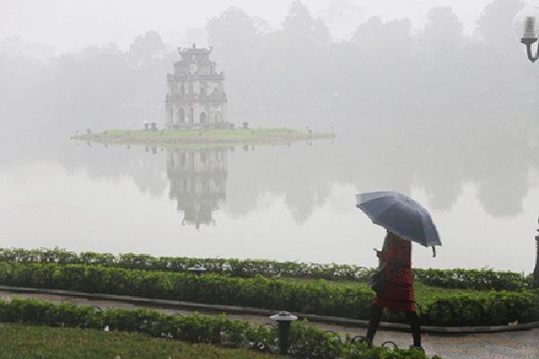 Dự báo thời tiết 5/1, Hà Nội sáng mưa phùn, chiều hửng nắng-1