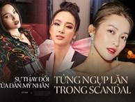 Sự thay đổi của dàn mỹ nhân từng ngụp lặn trong scandal: Khả Ngân, Kỳ Duyên gây dựng hình ảnh mới, bất ngờ nhất là Angela Phương Trinh