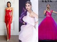 Lệ Quyên hóa nữ hoàng lộng lẫy - Lan Khuê tái xuất miễn chê trên sàn diễn thời trang