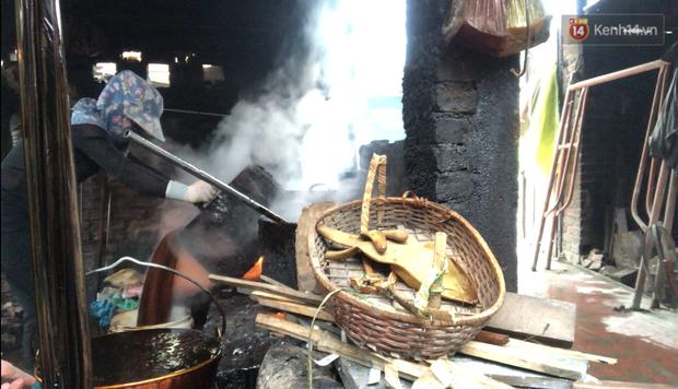 Kinh hãi quy trình làm miến bẩn phục vụ Tết Canh Tý ở làng nghề ven đô Hà Nội-4