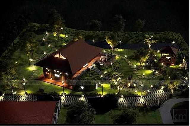 """Nhà vườn hoành tráng 4 mùa rợp bóng cây xanh của Nam Tào"""" Xuân Bắc-4"""