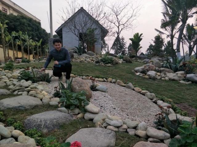 """Nhà vườn hoành tráng 4 mùa rợp bóng cây xanh của Nam Tào"""" Xuân Bắc-6"""