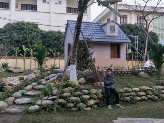 """Nhà vườn hoành tráng 4 mùa rợp bóng cây xanh của Nam Tào"""" Xuân Bắc-7"""