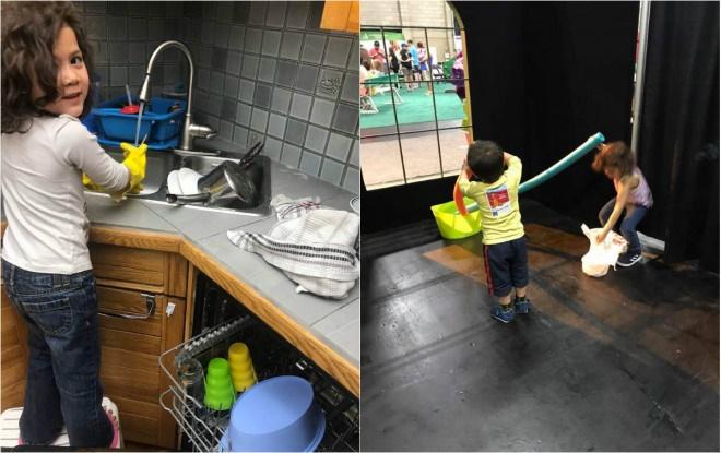 Mẹ 3 con chia sẻ kinh nghiệm dạy con làm việc nhà từ khi 2 tuổi-2