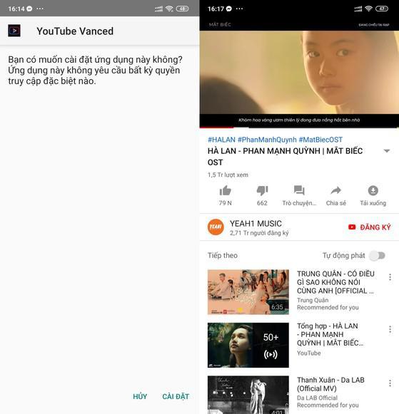 2 cách loại bỏ quảng cáo khi xem YouTube trên điện thoại-1