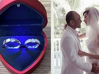 Xuân Lan tiết lộ cận cảnh cặp nhẫn cưới kim cương tinh xảo với ông xã Việt kiều nhưng gây tò mò nhất là giá tiền