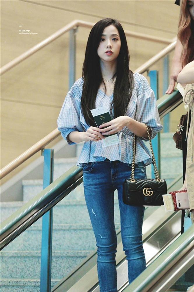 Jisoo và dàn mỹ nhân Hàn khoe dáng chuẩn với quần jeans bó sát-7