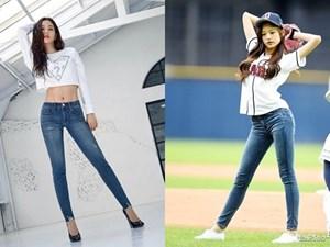 Jisoo và dàn mỹ nhân Hàn khoe dáng chuẩn với quần jeans bó sát