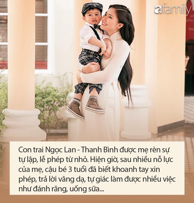 Hậu ly hôn Thanh Bình, Ngọc Lan bất ngờ thú nhận là bà mẹ chăm con rất dở nhưng nhìn cậu bé ai cũng khen ngợi-3