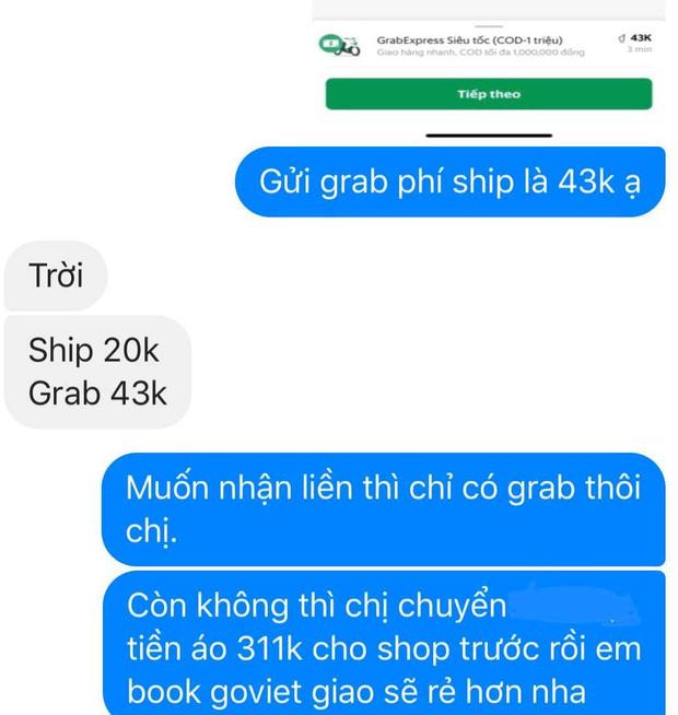 Phận làm chủ shop: Muốn tụt huyết áp trước thượng đế mua đồ trên 300k nhưng nằng nặc xin giảm 1k tiền ship-3