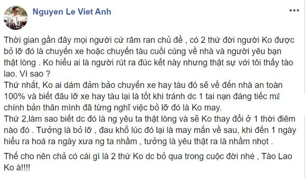 Việt Anh gây tranh cãi khi chê thoại Mắt Biếc tào lao, khẳng định đây là phim dành cho người ăn nhạt-2