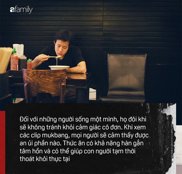 Mukbang: Trào lưu ăn cho người khác xem mang lại thu nhập hàng trăm triệu mỗi tháng nhưng đằng sau lại làcô đơn-5