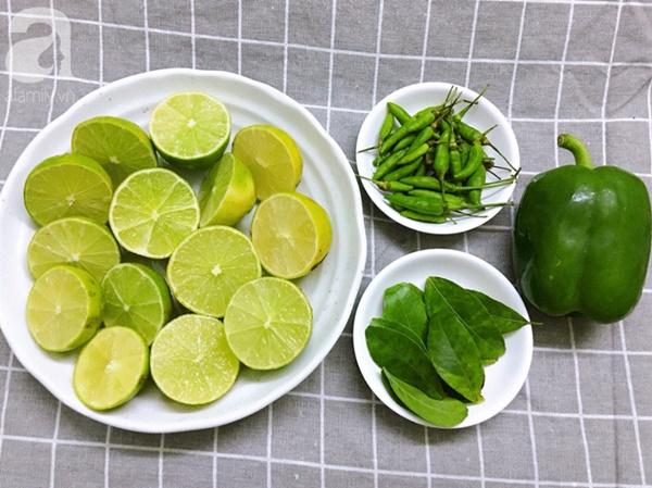 Ngày Tết nhất định phải làm sẵn chai muối ớt xanh, chấm từ hải sản đến thịt thà đều cực phẩm-1