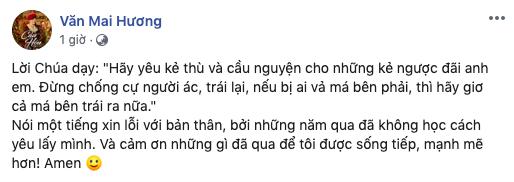 Văn Mai Hương lần đầu lên tiếng sau 11 ngày im lặng kể từ khi bị hacker tung hàng loạt clip nhạy cảm-1