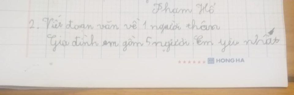 Yêu cầu viết bài văn ngắn tả người thân trong gia đình, cậu bé lớp 2 kể về anh trai thật như đếm khiến mẹ chỉ biết câm nín-1
