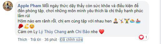 Bạn gái của diễn viên Chi Bảo phản ứng bất ngờ sau khi vợ cũ của người yêu được khen hết lời vì body săn chắc khỏe mạnh-3