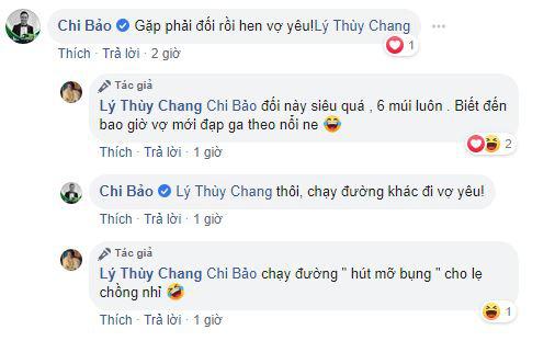 Bạn gái của diễn viên Chi Bảo phản ứng bất ngờ sau khi vợ cũ của người yêu được khen hết lời vì body săn chắc khỏe mạnh-2