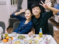 Cận cảnh nơi sống giản dị của Trung Ruồi và vợ xinh đẹp