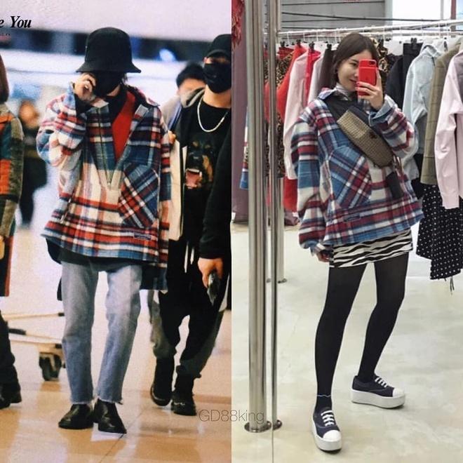 Fan phát hiện G-Dragon và chị gái nhiều lần mặc đồ giống nhau-2