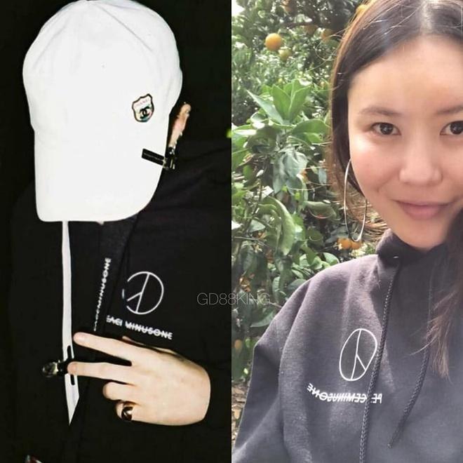 Fan phát hiện G-Dragon và chị gái nhiều lần mặc đồ giống nhau-3