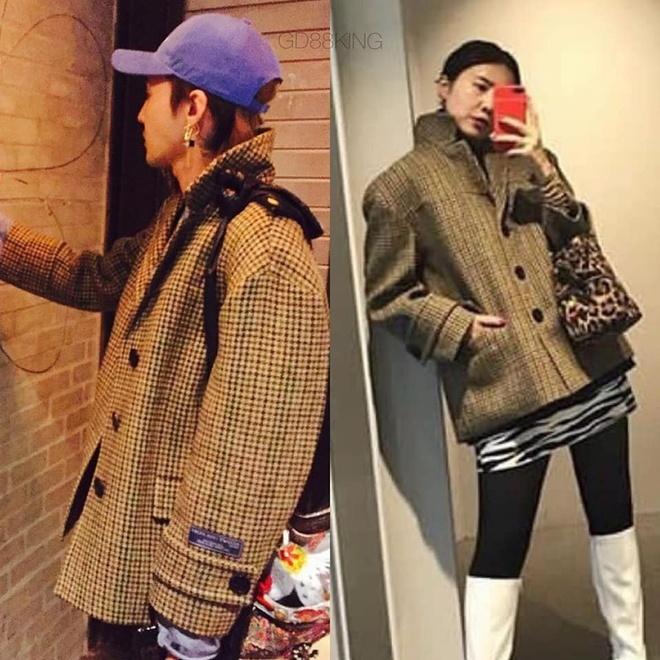 Fan phát hiện G-Dragon và chị gái nhiều lần mặc đồ giống nhau-5