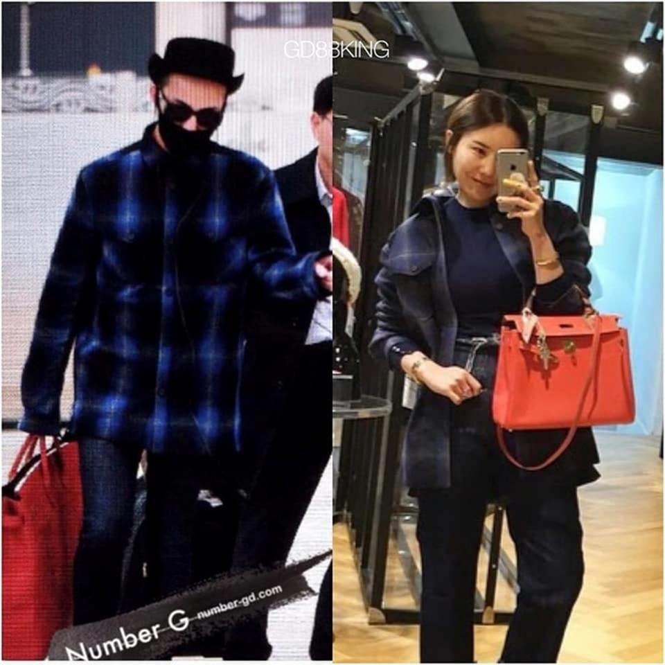 Fan phát hiện G-Dragon và chị gái nhiều lần mặc đồ giống nhau-6