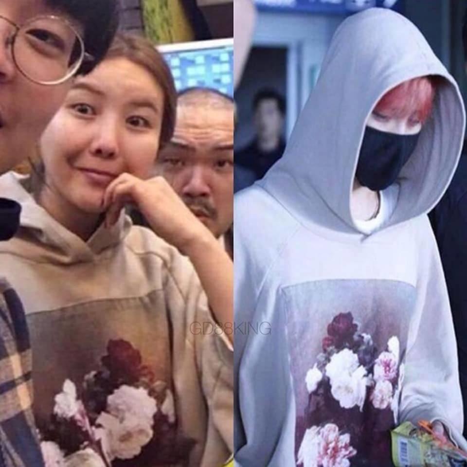 Fan phát hiện G-Dragon và chị gái nhiều lần mặc đồ giống nhau-8