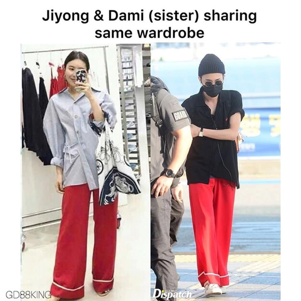 Fan phát hiện G-Dragon và chị gái nhiều lần mặc đồ giống nhau-9