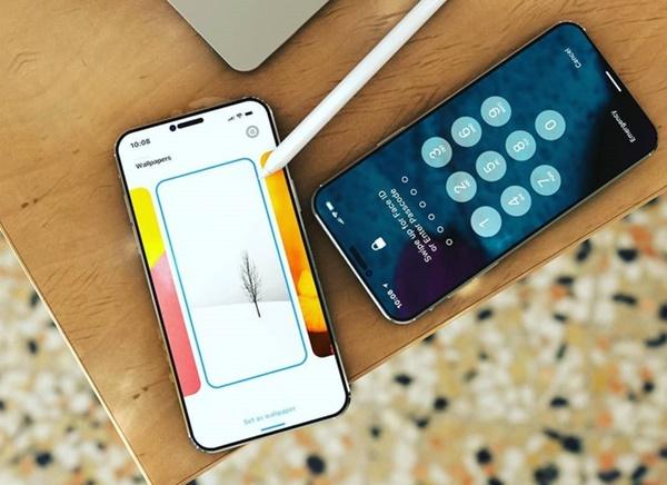 Thiết kế iPhone 12 Pro với 6 camera sau, Face ID đục lỗ-1