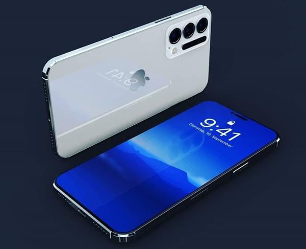 Thiết kế iPhone 12 Pro với 6 camera sau, Face ID đục lỗ-2