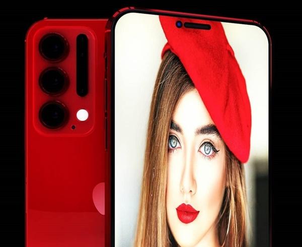 Thiết kế iPhone 12 Pro với 6 camera sau, Face ID đục lỗ-7