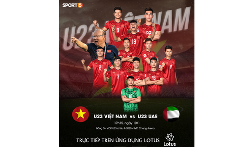 U23 Việt Nam hòa UAE ở trận ra quân giải châu Á-33