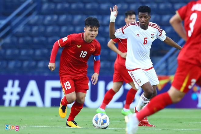 U23 Việt Nam hòa UAE ở trận ra quân giải châu Á-7