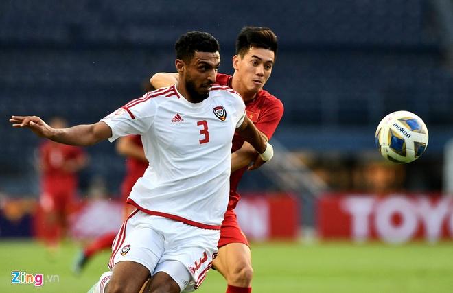 Những quyết định bất ngờ của HLV Park trong trận gặp UAE-1